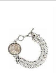 Devotion Joan of Arc Toggle Bracelet