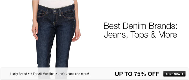 Best Denim Brands: Jeans, Tops and More