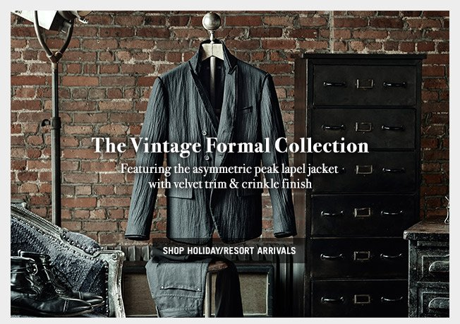 The vintage formal collection