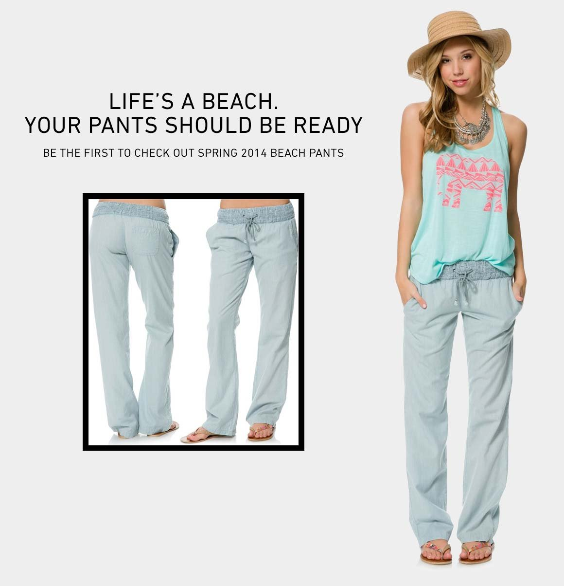 New Women's Beach Pants