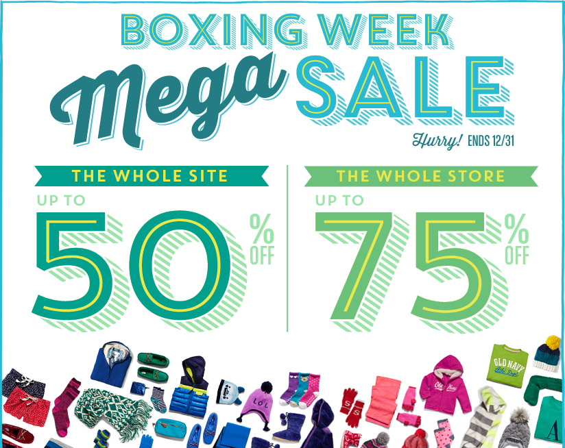 BOXING WEEK Mega SALE | Hurry ENDS 12/31 | THE WHOLE SITE UP TO 50% OFF | THE WHOLE STORE UP TO 75% OFF