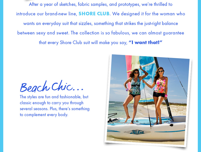 Meet Our Latest Line of Sassy Swimwear