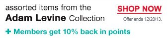 Plus, members get 10% back in points | Offer ends 12/28/13. | Shop Now