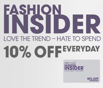 Fashion Insider: Love The Trend -- Hate To Spend | 10% Off Everyday