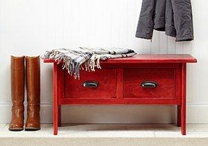 Oak Wine Barrel & Pine Furniture