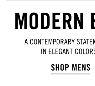 Modern Essentials - Shop Mens