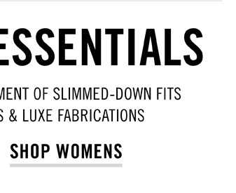 Modern Essentials - Shop Womens