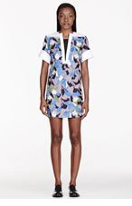 PETER PILOTTO Taupe embroidered Lea Tunic Dress for women