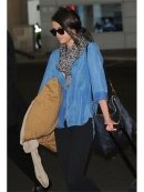 Bella Dahl Shirt Tail Button Down in Worn Well as Seen On Selena Gomez and More