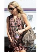McFadin Kate Bag In Putty as seen on Kate Hudson