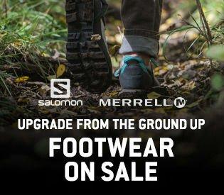 Salomon & Merrell Footwear Sale
