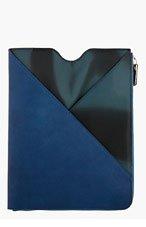 MAISON MARTIN MARGIELA Indigo Leather iPad Case for men