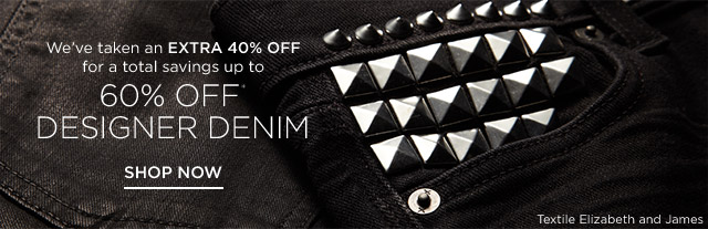 Up to 60% off Women's Denim