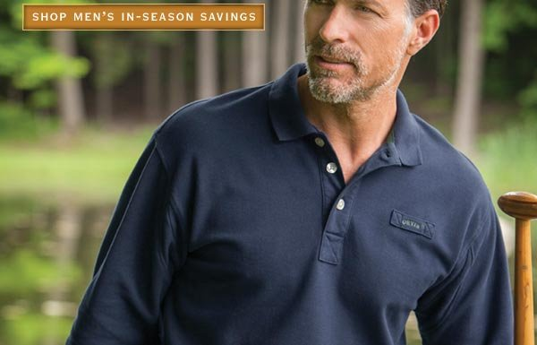 Shop Men's In-Season Savings