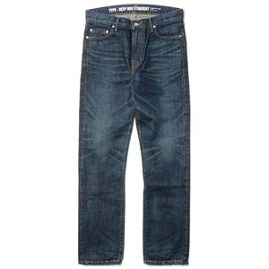 CASH CA x NEIGHBORHOOD Washed Deep Mid Straight Jeans