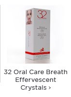 32 Oral Care Breath Effervescent Crystals