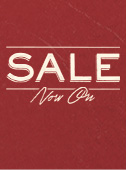 Sale Now On. Shop now