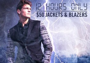Shop 12 HRS ONLY: $50 Jackets & Blazers