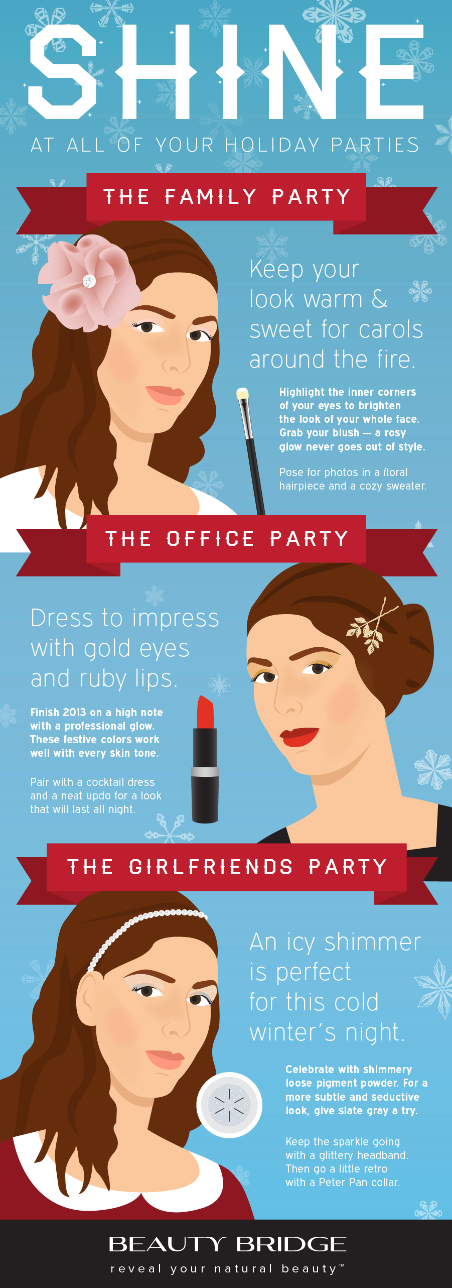 Shine at All of Your Holiday Parties