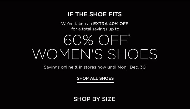 Up to 60% off Women's Shoes