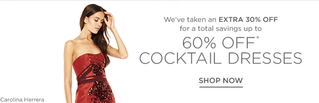 Up to 60% off Cocktail Dresses