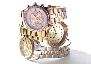 Diamond Accented Watches