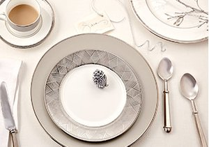 The Winter Table: Silver & White