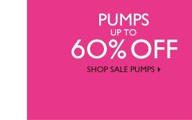 Click here to shop sale pumps.