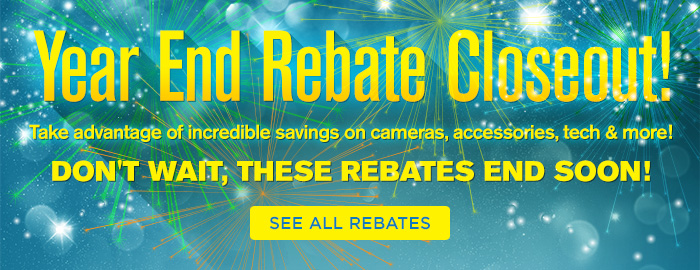 Adorama - Year End Rebates