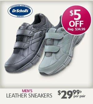 Leather Sneakers $29.99 per pair
