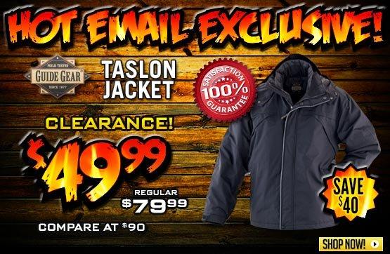 Guide Gear® Taslon Jacket