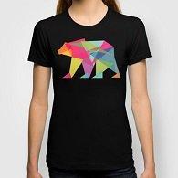 Fractal Bear - neon colorways