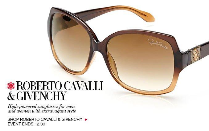 Shop Givenchy & Roberto Cavalli Sunglasses - Ladies & Men's