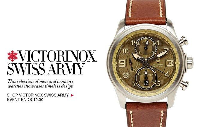 Shop Victorinox Watches - Ladies and Men's