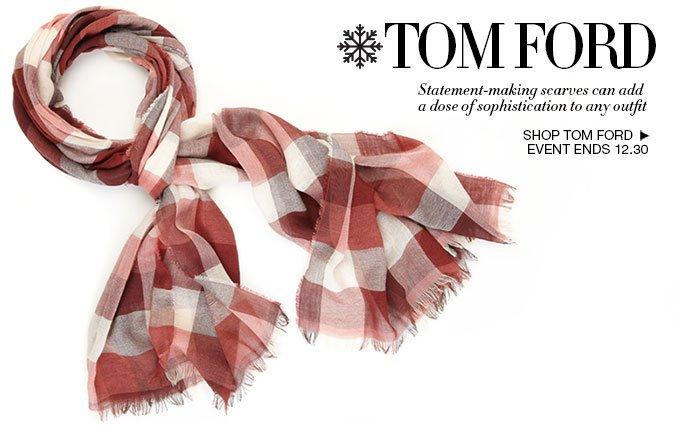 Shop Tom Ford - Men's Light Scarves