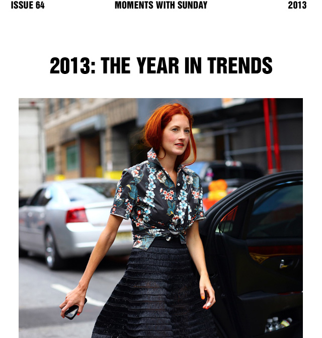 2013: The Year in Trends