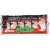 Hershey's Milk Chocolate Santa 6-pack, 7.2 oz.