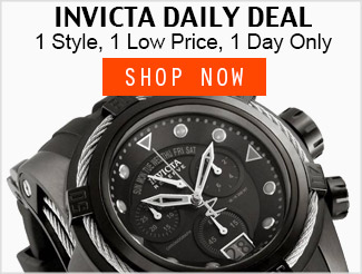 Invicta Daily Deal
