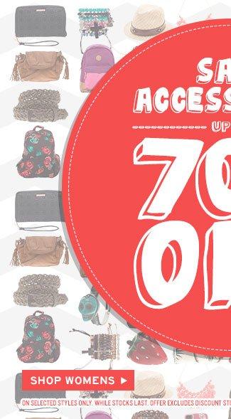 Shop Womens Accessories Sale