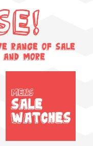 Shop Mens Sale Watches