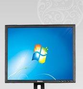 "Refurbished: HP EliteDesk 8200 Small Form Factor Desktop PC, Intel Core i5 3.1GHz, 4GB Memory, 250GB HDD, 19"" Monitor, Windows 7 Professional 64-Bit"