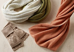 Cozy Up: Cashmere & Wool Accessories