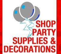 Shop Party Supplies & Decorations