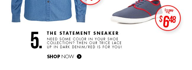 The Statement Sneaker