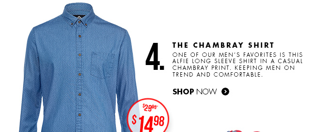 The Chambray Shirt