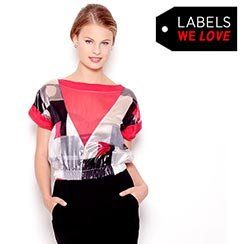 Labels We Love Sale! Blouses by D&G, Just Cavali & more Starting at $9