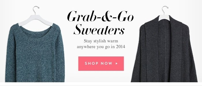 Grab and Go Sweaters