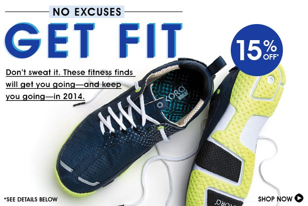 Get Fit 15% Off No Excuses