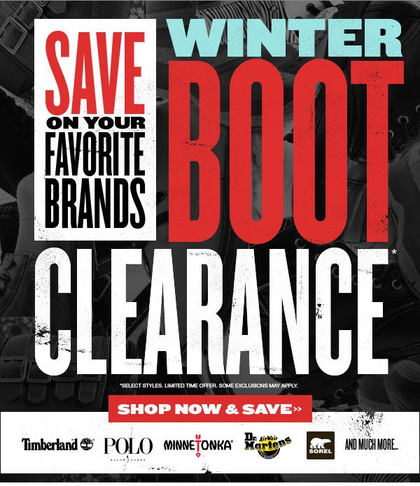 Winter Boot Clearance: Save Big on Boots