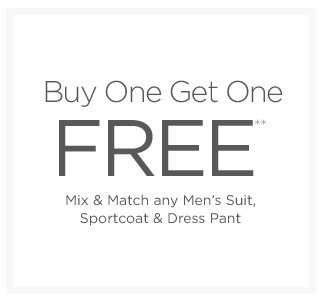 But One Get One Free Men's Suits & more
